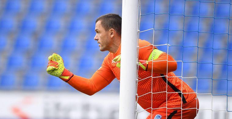 Vukovic (35) maakt meteen weer indruk op supporters van KRC Genk