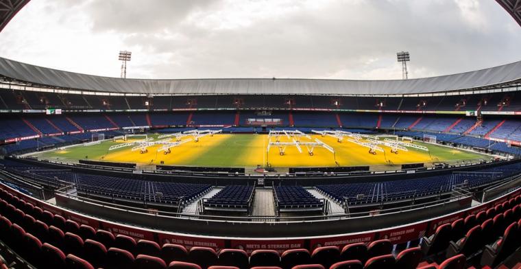 Feyenoord laat meer supporters toe voor aankomende oefenwedstrijd in De Kuip