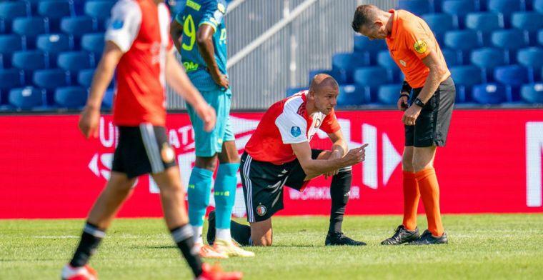 Feyenoord bevestigt slecht nieuws: pechvogel Van Beek 'langere tijd' absent