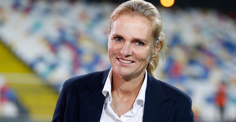 'Volhardende Engelse bond zet zinnen op Oranje-bondscoach Wiegman'