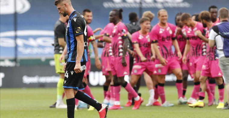 """Mechele gaat de fout in: """"De gevolgen zijn desastreus voor Club Brugge"""""""