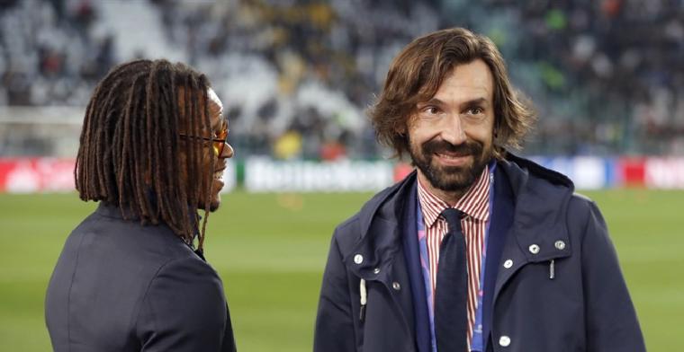 'Pirlo bekijkt beelden van Ajax en AZ en is onder indruk van Alkmaars drietal'