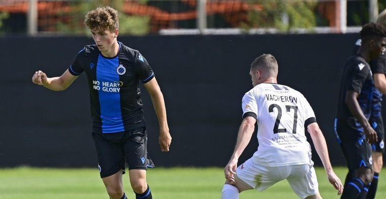 Nieuw talent staat klaar bij Club Brugge: Mijn specialiteit? Lange ballen