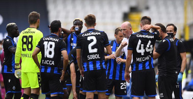 'Club Brugge heeft het moeilijk, iedereen wil het vel van de kampioen'