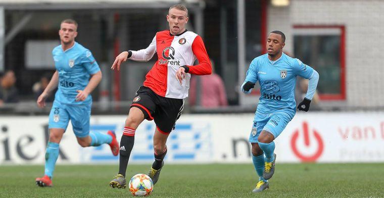 Feyenoord gaat koers wijzigen: alleen Van Beek en Nieuwkoop via Jong naar De Kuip