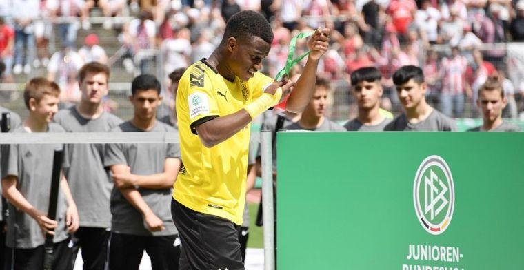 Haaland verbijsterd door Dortmund-sensatie: 'Veel beter dan ik op mijn vijftiende'