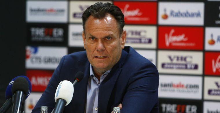 AZ reageert op Van Praag: 'Ook zijn eventuele inbreng was één van de vragen'
