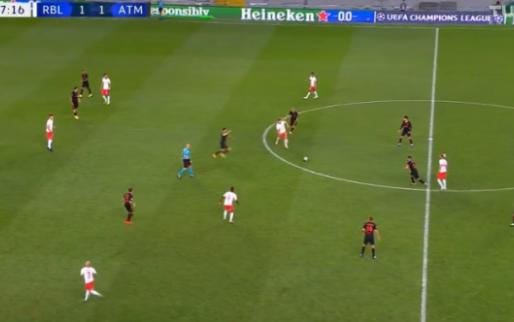 Deze moet je zien: de goal waarmee RB Leipzig Atlético uitschakelt