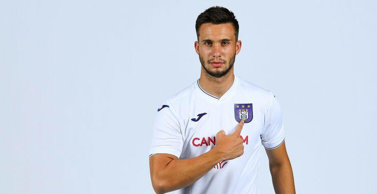 'Anderlecht praat met Nederlanders over transfer van Adzic'