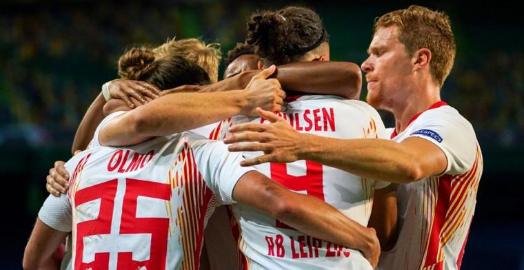 RB Leipzig stunt opnieuw en schakelt Atlético in minuut 89 uit