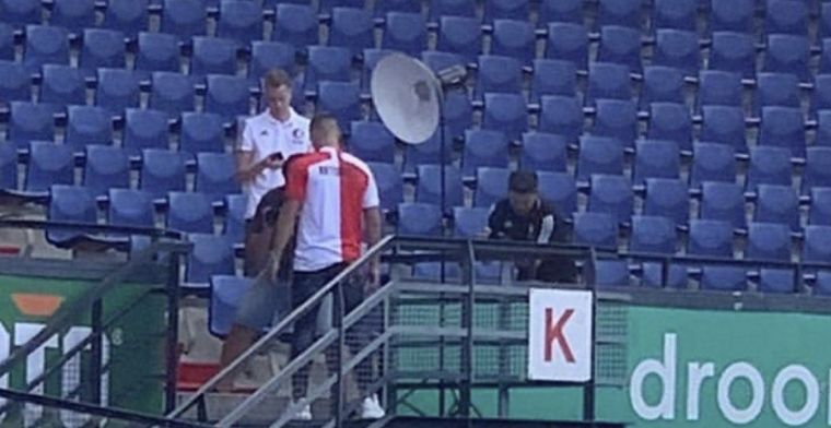 Feyenoord-aanwinst gespot in de Kuip: aankondiging lijkt aanstaande