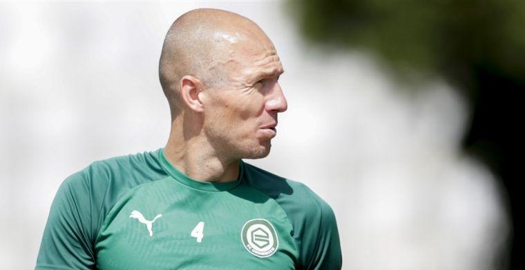 Toch geen Robben-rentree bij FC Groningen: Het randje aangetikt