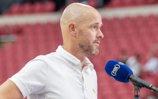 Ten Hag lovend: 'Hij speelde intelligent, was de grote drijvende kracht bij Ajax'
