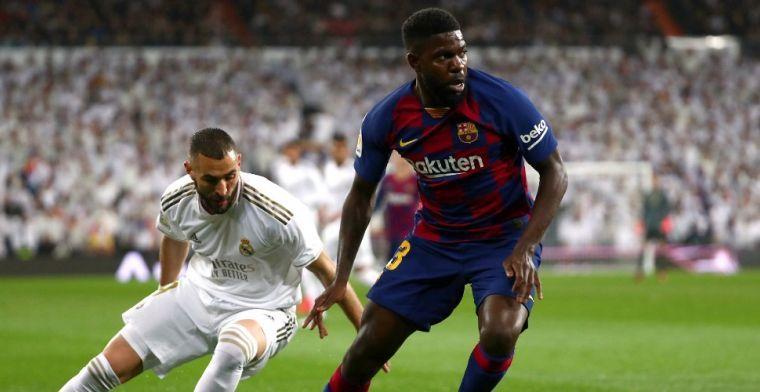 Barça meldt enkele uren voor Champions League-clash positieve test Umtiti