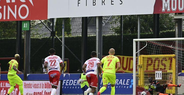KV Mechelen wint op Moeskroen na twee keer hernemen strafschop