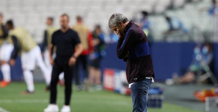 'FC Barcelona grijpt in na Champions League-vernedering: Setién ontslagen'