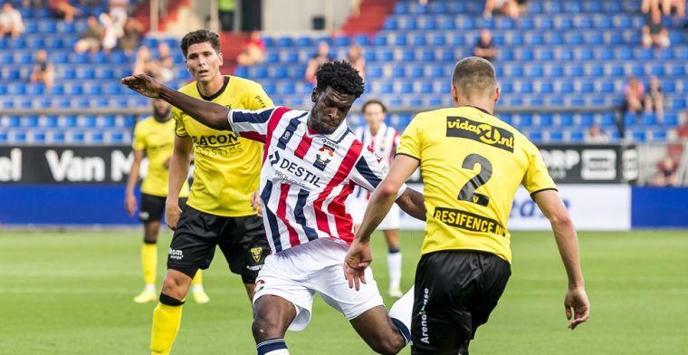 Wriedt maakt meteen indruk bij Willem II, Reza bezorgt Groningen nederlaag