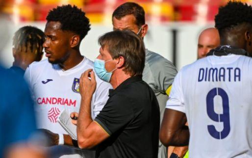 'Vercauteren niet helemaal gelukkig bij Anderlecht, vijf ergernissen van de coach'