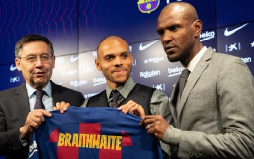 'Na coach Setién wordt ook TD Abidal weggestuurd bij Barcelona'