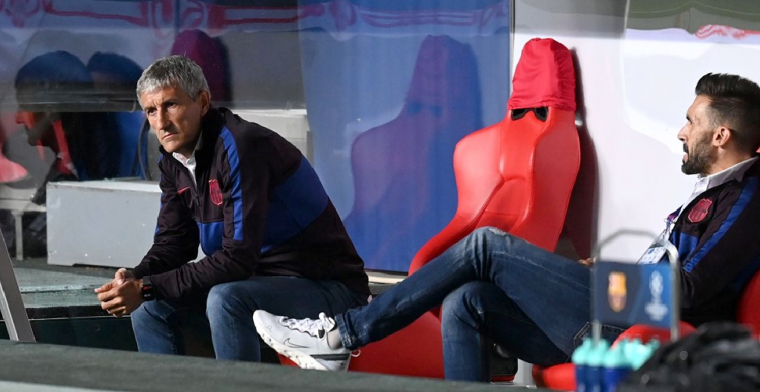Barça ontslaat Setién en presenteert nieuwe coach 'binnen enkele dagen'