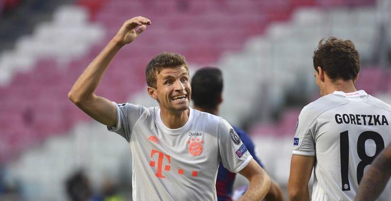 Goretzka toont geen medelijden met Messi: 'Lol gemaakt op het veld'