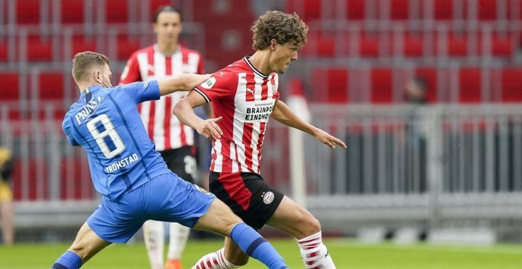 PSV overtuigt niet en speelt gelijk tegen Vitesse bij flitsrentree Malen