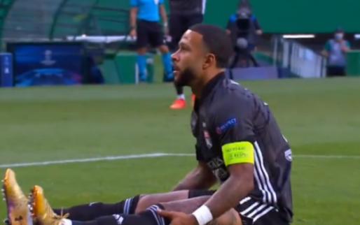 Enorme mogelijkheid Memphis: Lyon-aanvaller passeert Neuer, maar schiet in zijnet