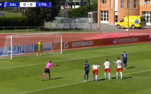 Hoe krijg je het voor elkaar: jeugdspeler Lyon mist drie strafschoppen op rij