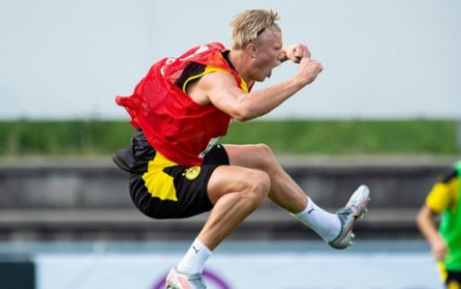 Afbeelding: 'Raket' Haaland brak door tegen Feyenoord: 'Hij creëerde kansen als een dolle'