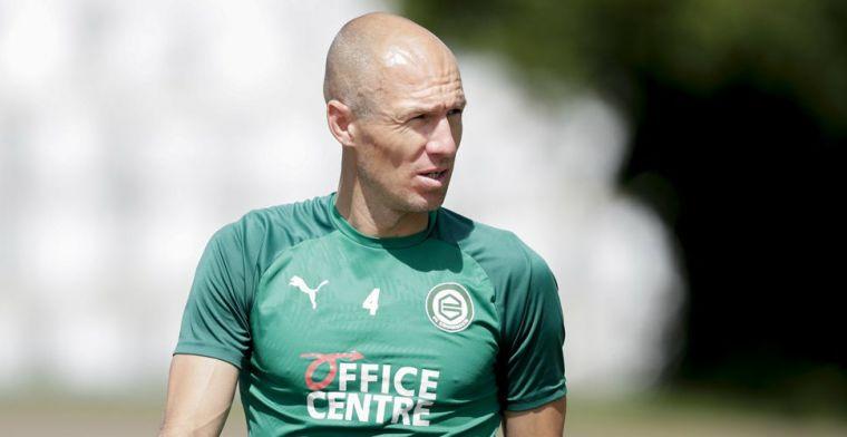 Robben start tegen Almere City en maakt rentree in Groningen-shirt