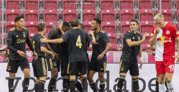 Ajax sluit trainingskamp in Oostenrijk af met ruime zege op Red Bull Salzburg