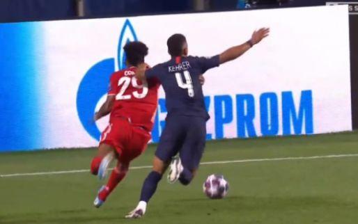 Woede in Duitsland om niet gegeven penalty voor Bayern München