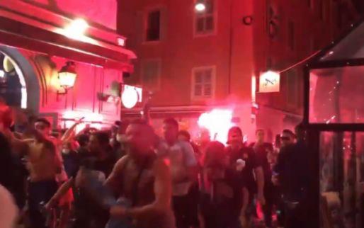 Duizenden mensen in Marseille vieren feest na PSG-nederlaag