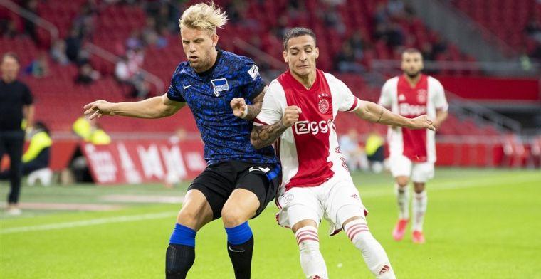 Oefenzege van Ajax op Hertha: Neres viert terugkeer, Blind valt uit met klachten