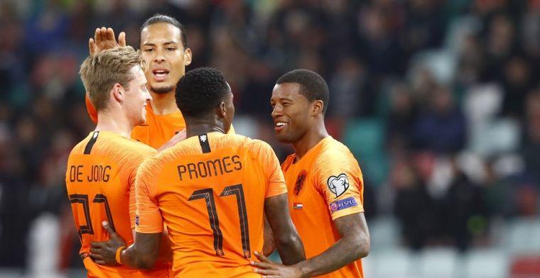 Kabinet: Oranje-internationals krijgen uitzondering op quarantaineregels