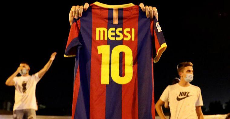 El Periódico: stug Barça reageert op Messi-voorstel, 'verlengen enige optie'