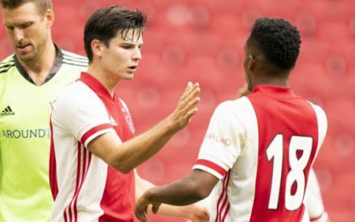 Afbeelding: Piepjong Ajax blijft ongeslagen in laatste oefenwedstrijd van voorbereiding
