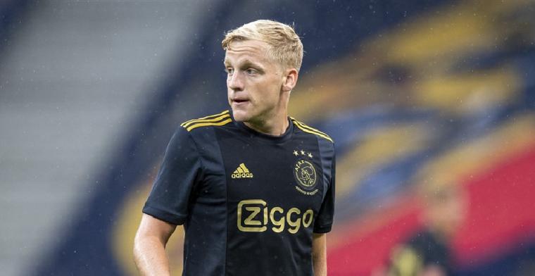 'Van de Beek laat zich keuren en ontbreekt op training Nederlands elftal'