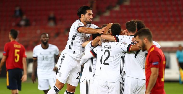 Duitsland - Spanje duurt één minuut te lang voor Die Mannschaft