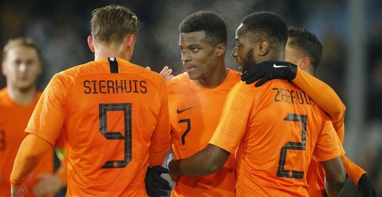 'Niet alleen Chong, ook Hertha-drietal niet met Jong Oranje naar Wit-Rusland'