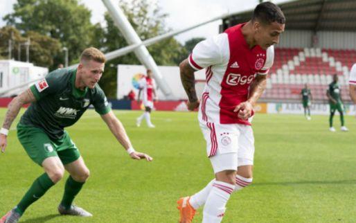 Afbeelding: Ajax verdedigt ongeslagen status succesvol tegen Augsburg: penalty Labyad bepalend