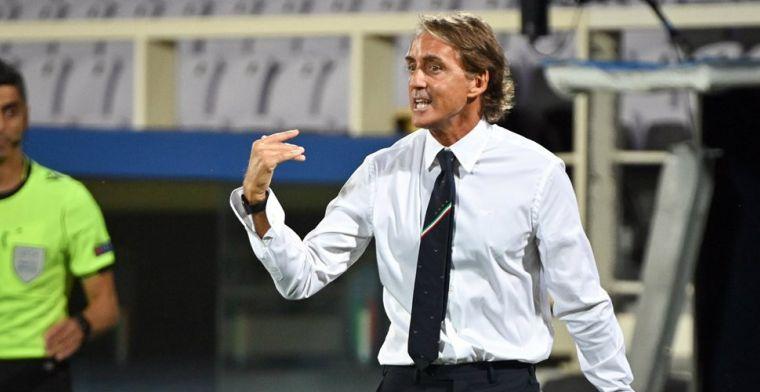 Chiellini op Italië-bank door opvallende fout Mancini: 'Ik had mijn bril niet op'
