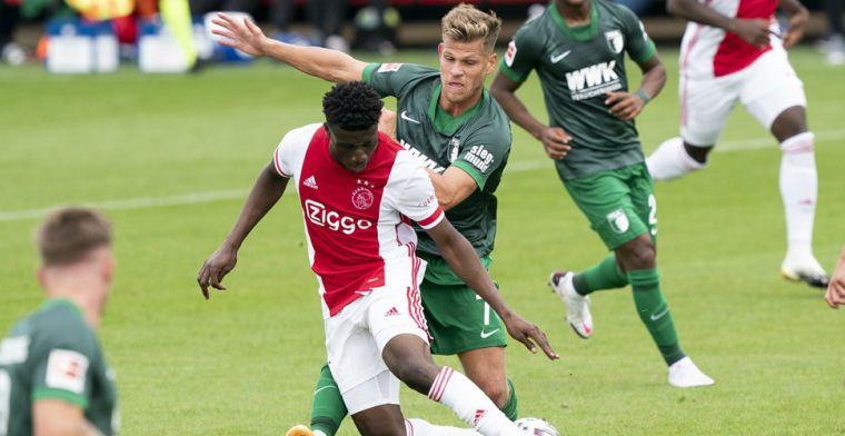 Ajax-aanwinst Kudus wijst zijn grote voorbeeld aan: 'Ik kijk tegen hem op'