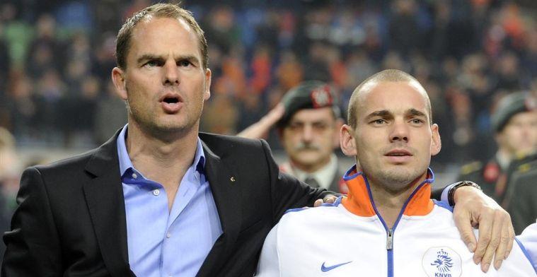 Sneijder oppert nieuwe naam voor Oranje-job: 'Hij ademt voetbal, de beste optie'