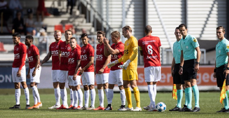 Almere City verslaat Excelsior in bizarre wedstrijd met tien doelpunten