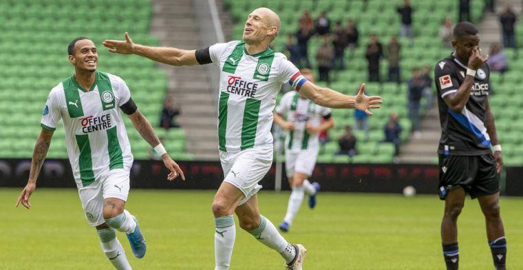 Schijnwerpers op Robben na oefenduel met Bielefeld: eerste goal sinds rentree
