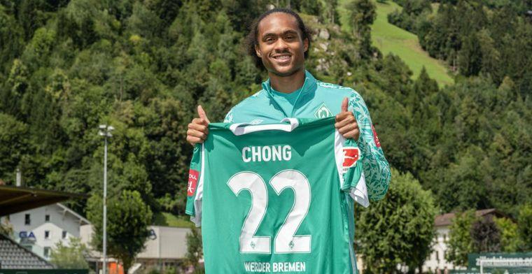 Werder Bremen komt met bevestiging: Chong tóch niet naar Jong Oranje