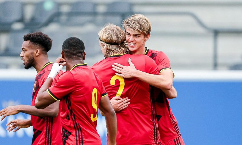 Afbeelding: Jonge Rode Duivels steken hand uit naar EK na vlotte winst tegen Duitsland