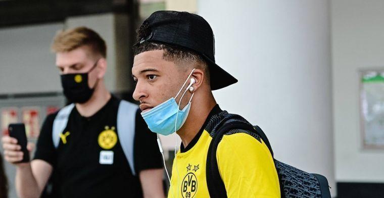 'Doorbraak voor Manchester United: transfer Sancho komt stapje dichterbij'