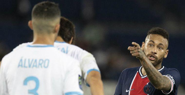 PSG komt met Neymar-statement na uit de hand gelopen wedstrijd tegen Marseille